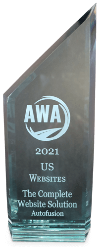 Autofusion AWA Award - US Website
